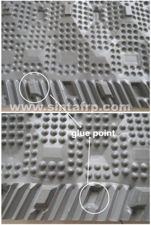 cooling tower pvc fillers exported to worldwide
