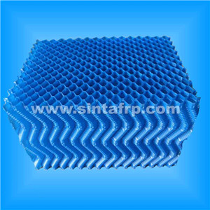 600mm oblique cooling tower fill plastic fills for cooling tower
