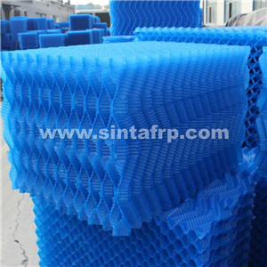 pvc cf-12 film fill pvc cooling tower infills