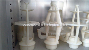 bottom price popular round cooling tower filling material high heat pp cooling tower round fill pp