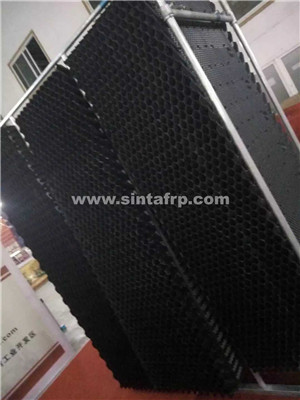 pakistan cross flow pvc square cooling tower fill block