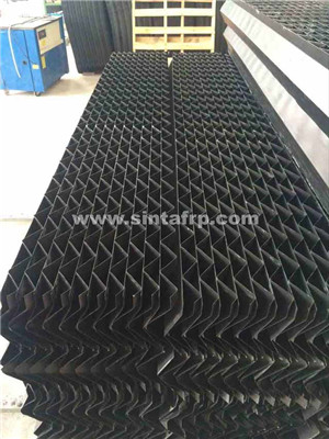 pvc cooling tower filler made in china,cross fluted film