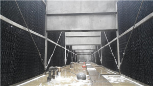 bottle type pp cooling tower filler used in heat resistant cooling tower
