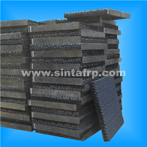 pvc fill for cooling tower cross cooling tower infill pack filler