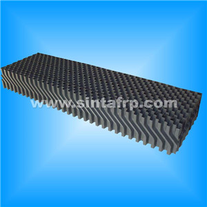 china 950*950mm crossflow pvc filling for cooling tower
