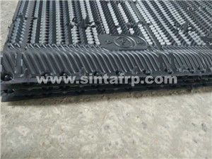 610mm cooling tower fills,305mm pvc sheets black water
