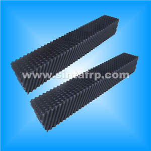 cooling tower film fills 610-1220 black new square cooling tower fill