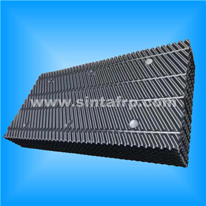 new coming corrugated cooling tower infills