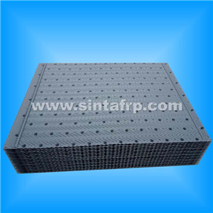 pp/pvc counterflow cooling tower fill packing media