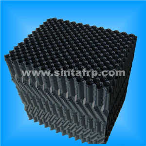 rigid pvc fill design cooling tower fill media