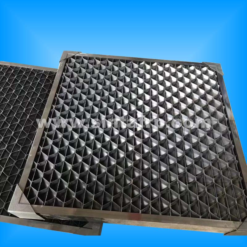 New Design Air Intake Louvers For Cooling Tower