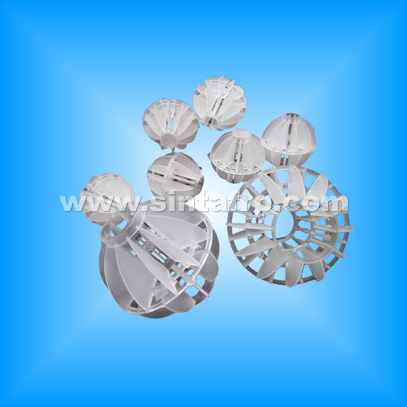 Polyhedral Polyhedral Balls Plastic Bio Filter Media