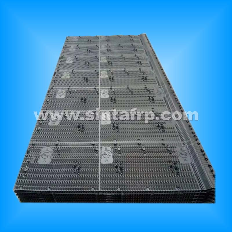 New Design Crossflow Cooling Tower Film Fill