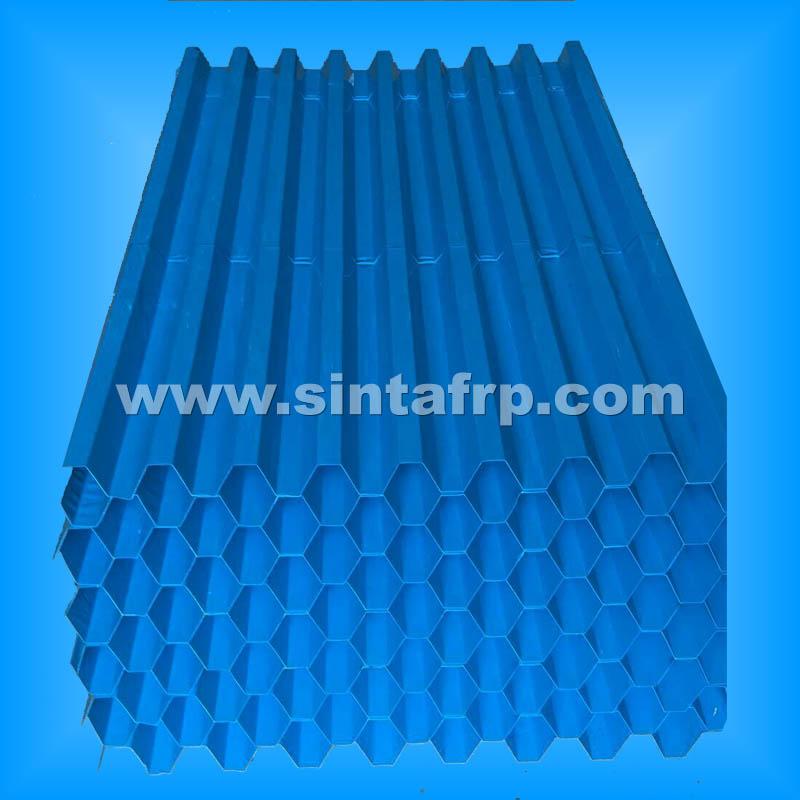Lamella Plate Clarifier PVC Tube Settler Media
