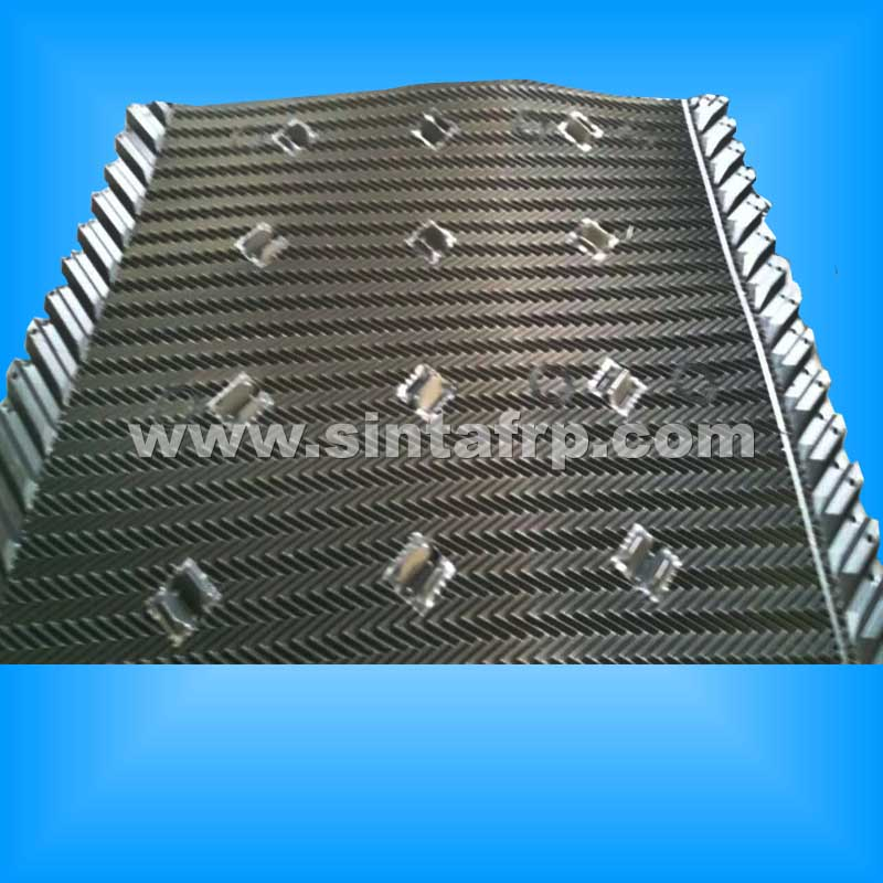 W1230mm*L Mesan Cooling Tower Film Fill