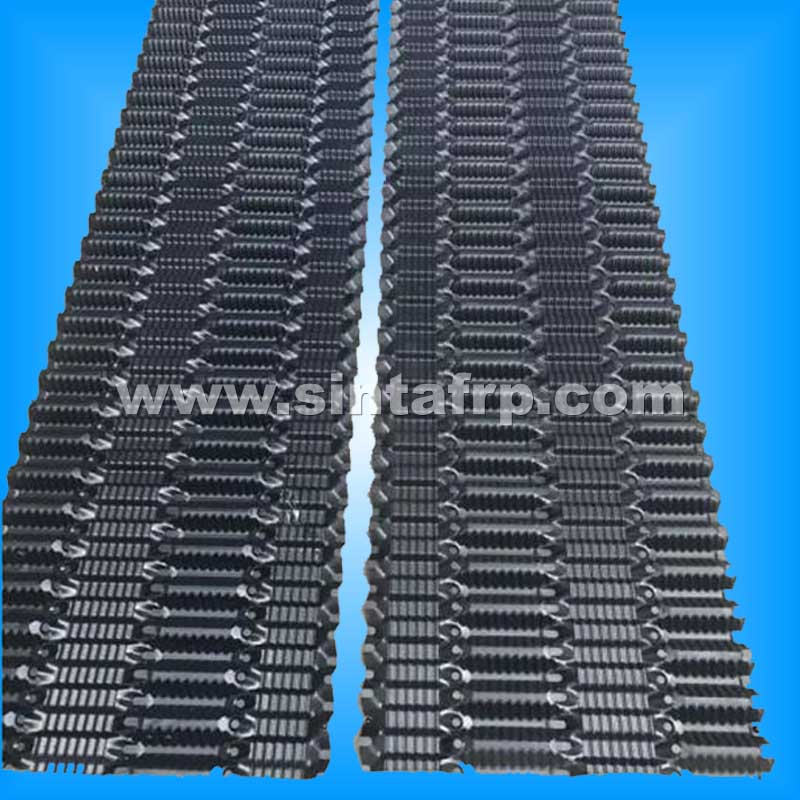 Vertical Fluted Cooling Tower PVC Fills
